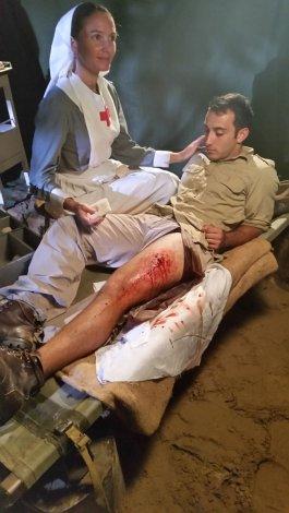 Bullet wound Scene